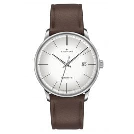 Junghans 027/4050.00 Men's Watch Meister Automatic Brown Leather Strap