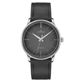 Junghans 027/4051.00 Men's Watch Meister Automatic Black Leather Strap