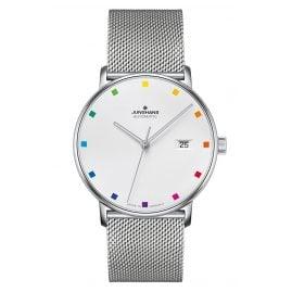 Junghans 027/4937.44 Automatik-Uhr Form A 100 Jahre Bauhaus