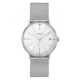Junghans 027/4106.46 max bill Watch Small Automatic with Mesh Strap