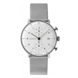 Junghans 027/4003.44 max bill Chronoscope Herrenuhr