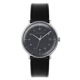 Junghans 041/481-Schwarz max bill Quarz Armbanduhr mit Wechselband
