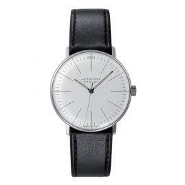 Junghans 027/3700.04 max bill Handaufzug Armbanduhr