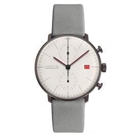 Junghans 027/4902.02 max bill Chronoscope Watch Edition Bauhaus 2019