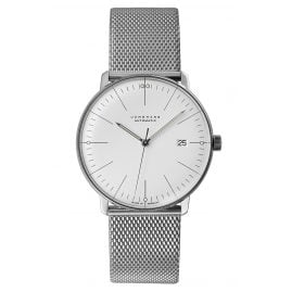 Junghans 027/4002.46 max bill Automatic Watch with Sapphire Crystal