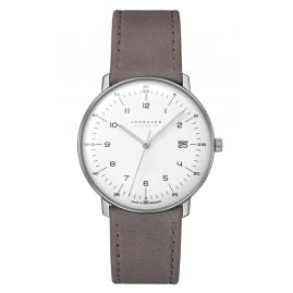 Junghans 059/2021.04 max bill Men's Radio-Controlled Watch Mega Solar Titanium