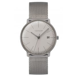 Junghans 059/2022.48 max bill Radio-Controlled Men's Watch Mega Solar Titanium