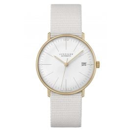 Junghans 027/7006.02 max bill Watch Small Automatic with Sapphire Crystal