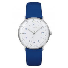 Junghans 047/4540.04 max bill Damenuhr Blau