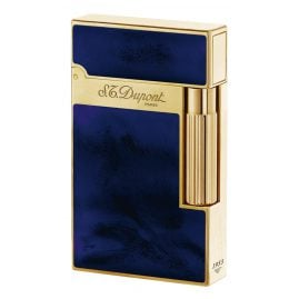 S.T. Dupont 016134 Lighter Line 2 Laque Bleue