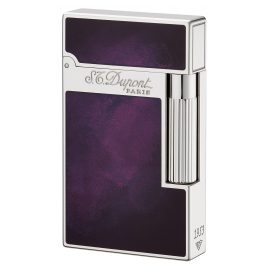 S.T. Dupont 016260 Lighter Line 2 Chinese Laquer Purple