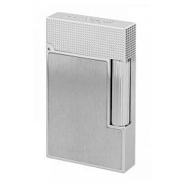 S.T. Dupont C16603 Lighter Line 2 Brushed/Platinum Tone