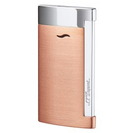 S.T. Dupont 027704 Lighter Slim 7 Copper/Chrome