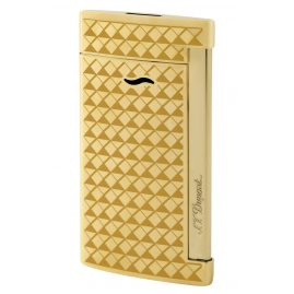 S.T. Dupont 027715 Lighter Slim 7 Gold-Tone