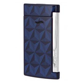 S.T. Dupont 027727 Feuerzeug Slim 7 Grafik Blau