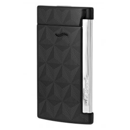 S.T. Dupont 027731 Lighter Slim 7 Graphic Black