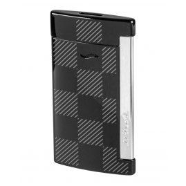 S.T. Dupont 027743 Lighter Slim 7 Checked Black
