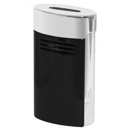 S.T. Dupont 020701 Lighter Megajet Black/Chrome