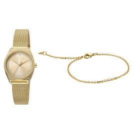 Esprit ES1L100M0065 Women's Watch Set with Bracelet Slice Dot