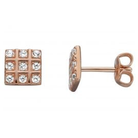 Esprit ESER00501200 Women's Ear Studs Chess