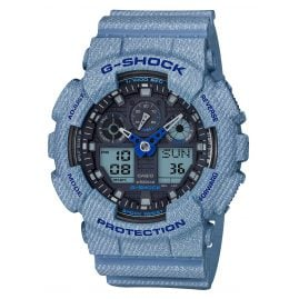 Casio GA-100DE-2A G-Shock AnaDigi Mens Watch