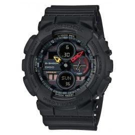 Casio GA-140BMC-1AER G-Shock Men's Watch Black x Neon