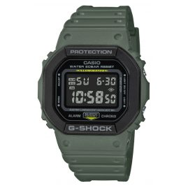 Casio DW-5610SU-3ER G-Shock The Origin Digitaluhr Olivgrün