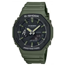 Casio GA-2110SU-3AER G-Shock Classic Ana-Digi Men's Watch Olive-Green