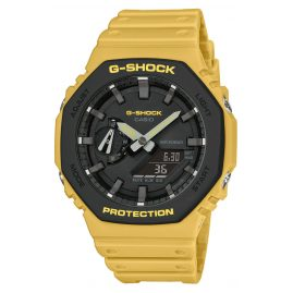 Casio GA-2110SU-9AER G-Shock Classic Ana-Digi Men's Watch Yellow