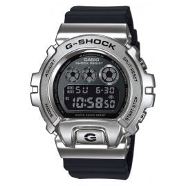 Casio GM-6900-1ER G-Shock Classic Digital Herrenuhr Silber/Schwarz
