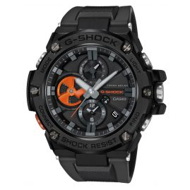 Casio GST-B100B-1A4ER G-Shock G-Steel Solar Men's Watch Black