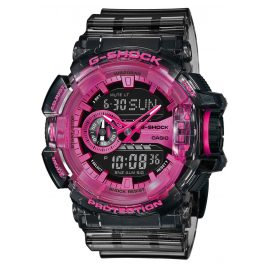 Casio GA-400SK-1A4ER G-Shock Watch Chronograph Grey / Pink