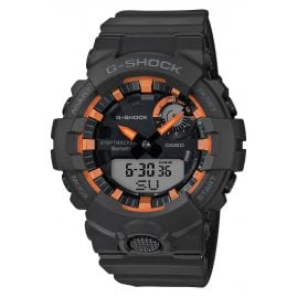 Casio GBA-800SF-1AER G-Shock G-Squad Herrenuhr Bluetooth Schwarz / Orange