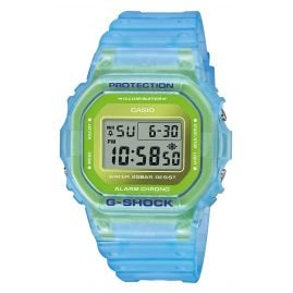 Casio DW-5600LS-2ER G-Shock The Origin Digitaluhr Hellblau / Grün