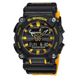 Casio GA-900A-1A9ER G-Shock men´s Watch Black/Yellow