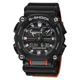 Casio GA-900C-1A4ER G-Shock Herrenuhr Schwarz/Orange