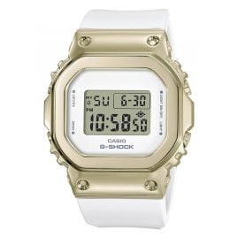 Casio GM-S5600G-7ER G-Shock Damen-Digitaluhr Weiß