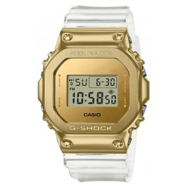 Casio GM-5600SG-9ER G-Shock The Origin Damen-Digitaluhr Goldfarben