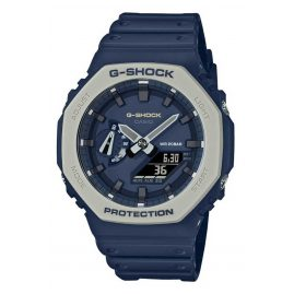 Casio GA-2110ET-2AER G-Shock Classic Ana-Digi Men's Watch Dark Blue/Grey