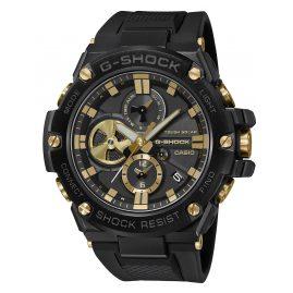 Casio GST-B100GC-1AER G-Shock G-Steel Solar Herrenuhr Schwarz/Goldfarben