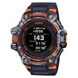 Casio GBD-H1000-1A4ER G-Shock Bluetooth Smartwatch Herrenuhr Schwarz/Orange