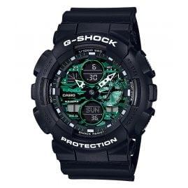 Casio GA-140MG-1AER G-Shock Classic Herrenuhr Schwarz/Grün