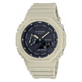 Casio GA-2100-5AER G-Shock Classic AnaDigi Men's Watch Beige/Black