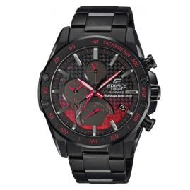 Casio EQB-1000HR-1AER Edifice Chronograph Herrenuhr Bluetooth Honda Racing