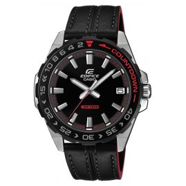 Casio EFV-120BL-1AVUEF Edifice Men's Watch with Leather Strap