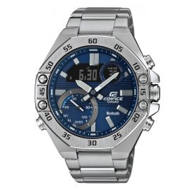 Casio ECB-10D-2AEF Edifice Men's Wristwatch with Bluetooth Blue