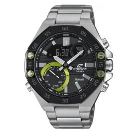 Casio ECB-10DB-1AEF Edifice Herrenuhr mit Bluetooth Schwarz