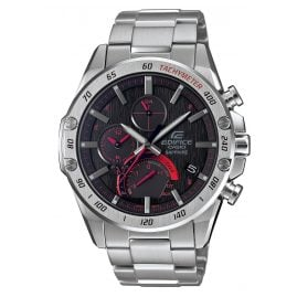 Casio EQB-1000XD-1AER Edifice Herrenuhr Solar Chrono Bluetooth Super Slim