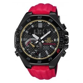 Casio ECB-10HR-1AER Edifice Limited Herrenuhr Honda Racing Schwarz / Rot