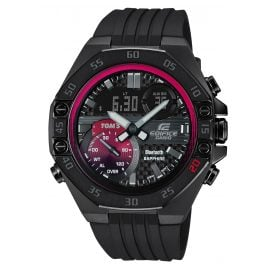 Casio ECB-10TMS-1AER Edifice Limited Herrenuhr Bluetooth Schwarz / Rot